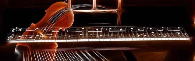 Piano und Geige
