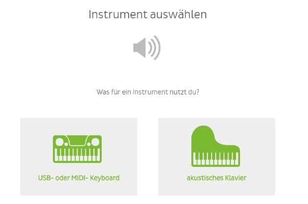Instrument lernen