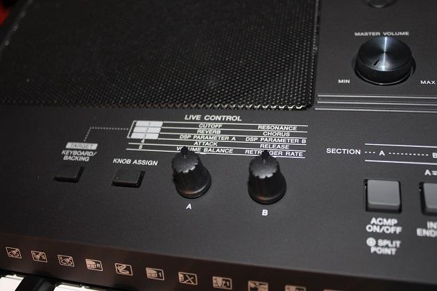 Soundklänge mit Drehreglern einstellen