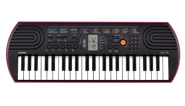 Keyboard Angebot Casio Sa 78 Mini Keyboard 44 Tasten Für 52 Euro