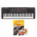 Yamaha Keyboard PSR-E263 mit Songbuch