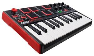 Akai-Professional-MPK-Mini-MKII-Portables-25-Tasten-USB-MIDI-Keyboard