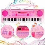 WOSTOO Kinder Keyboard mit 61 Tasten