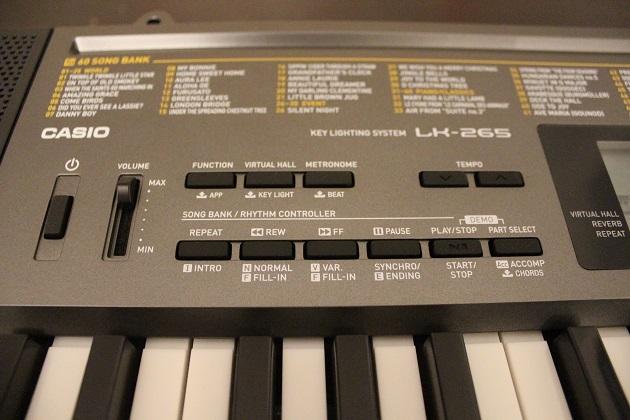 Casio-LK-265-Funktionen