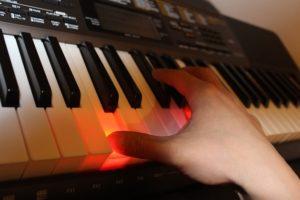Casio-LK-265 Leuchttasten Keyboard