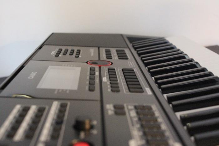 Casio CTX-5000 Keyboard Bedienfeld