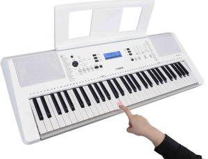 Yamaha Keyboard EZ-300 mit Leuchttasten